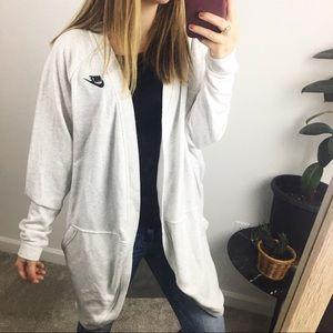 Nike cardigan sweater